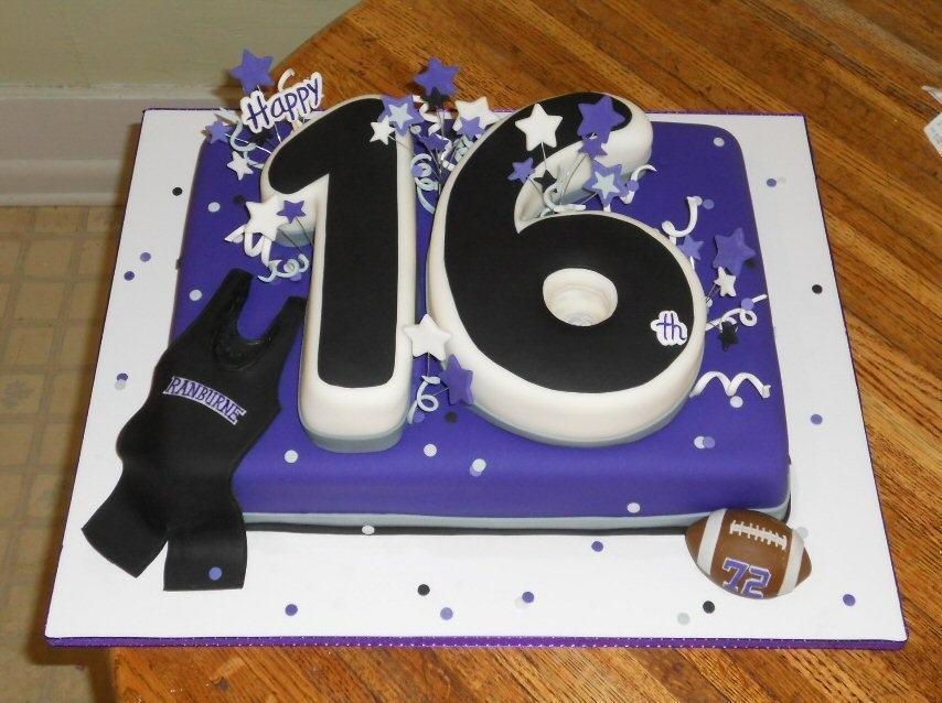 Swell 12 Boy Swag 16 Cakes Photo Boys 16Th Birthday Party Ideas Boys Funny Birthday Cards Online Amentibdeldamsfinfo