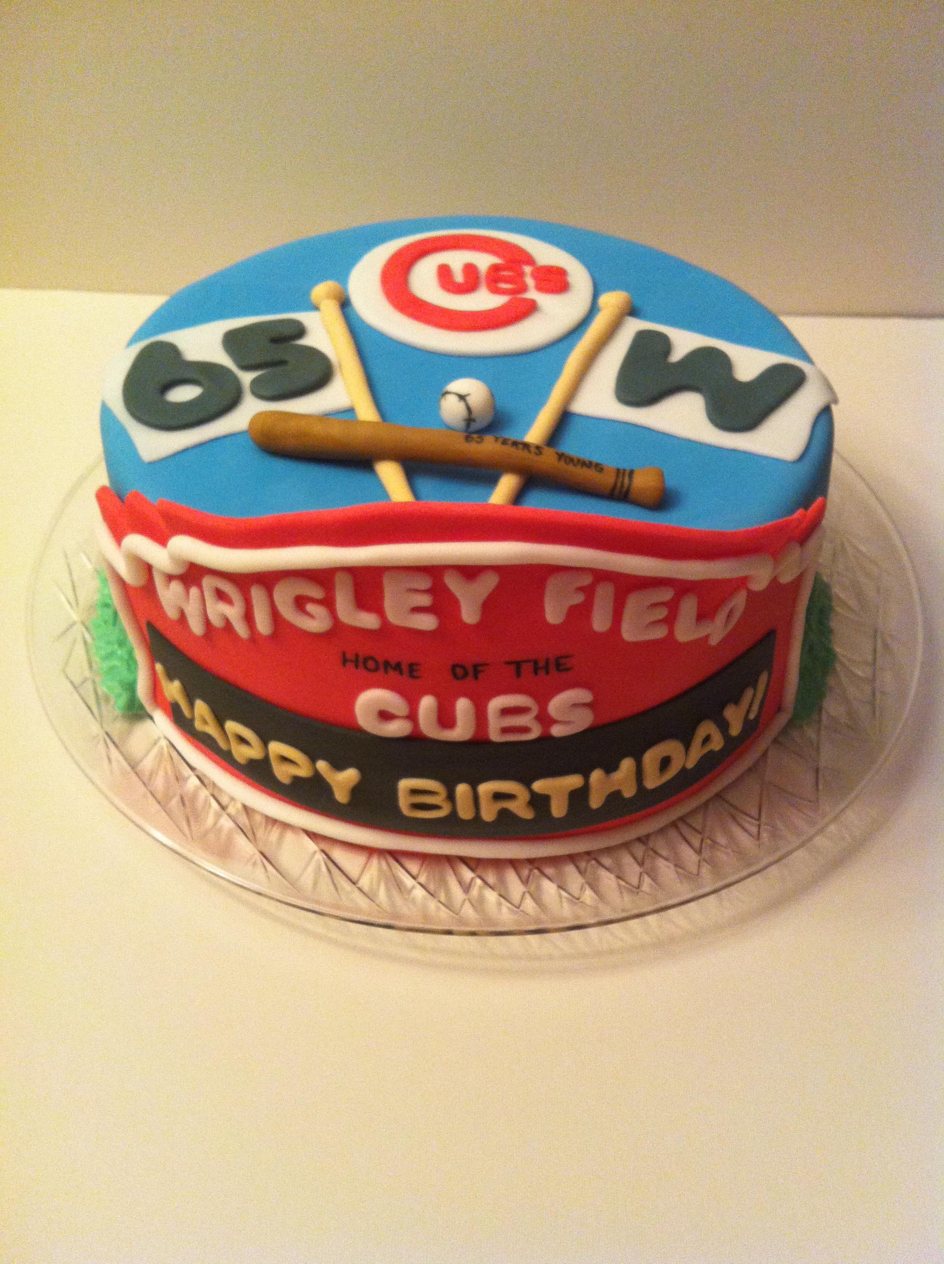 6 Cubs Happy Birthday Jeff Cakes Photo Chicago Cubs Happy Birthday