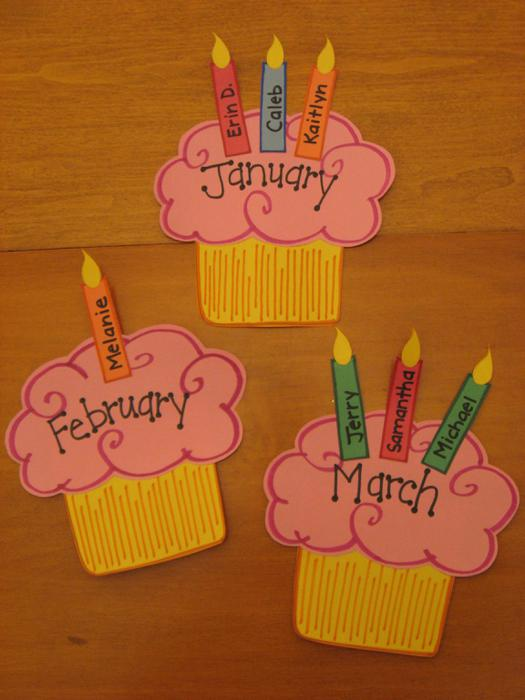 Ideas For Making Birthday Chart Makeup Creative Source 10 Cupcakes Board To Print In Preschool Photo Cupcake