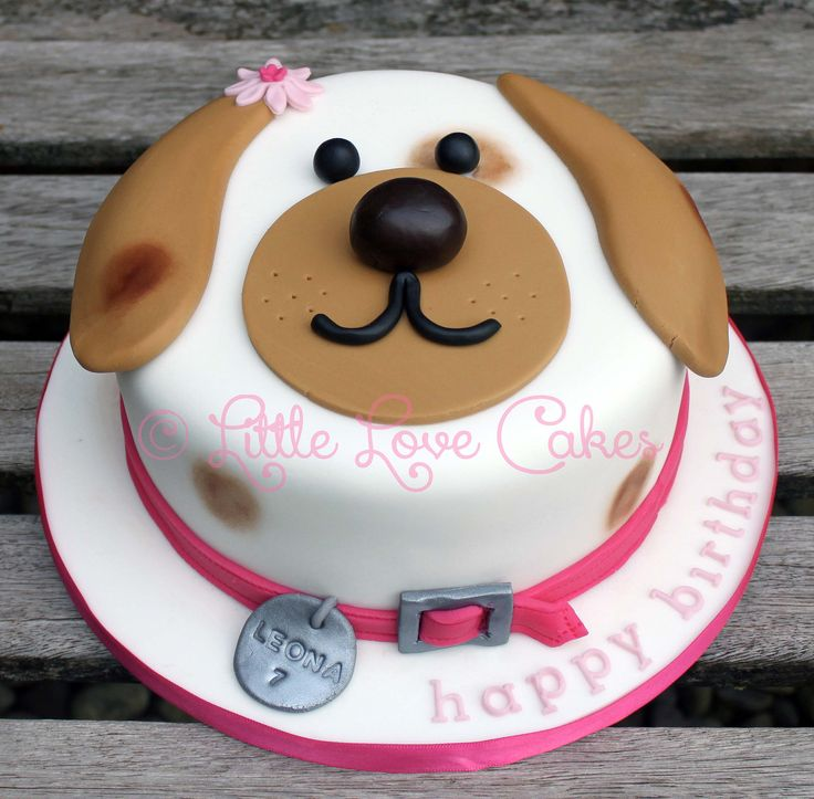 10 Decorated Cakes Amazing Dog Photo