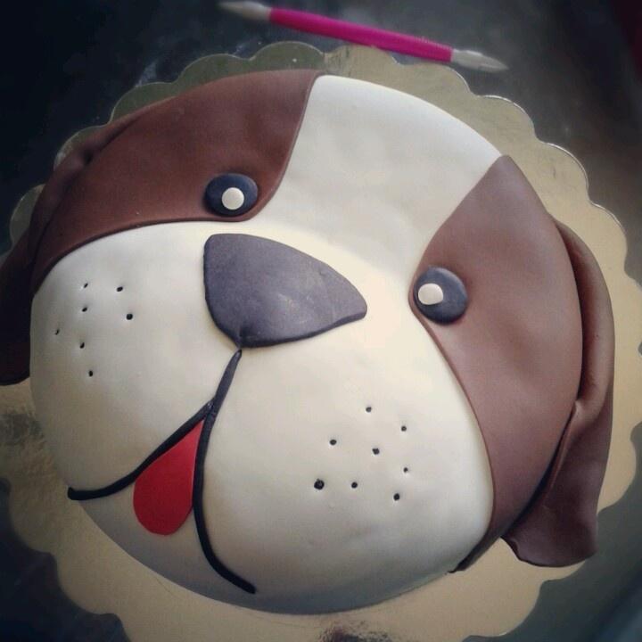 6 Dog With Birthday Design Cakes Photo