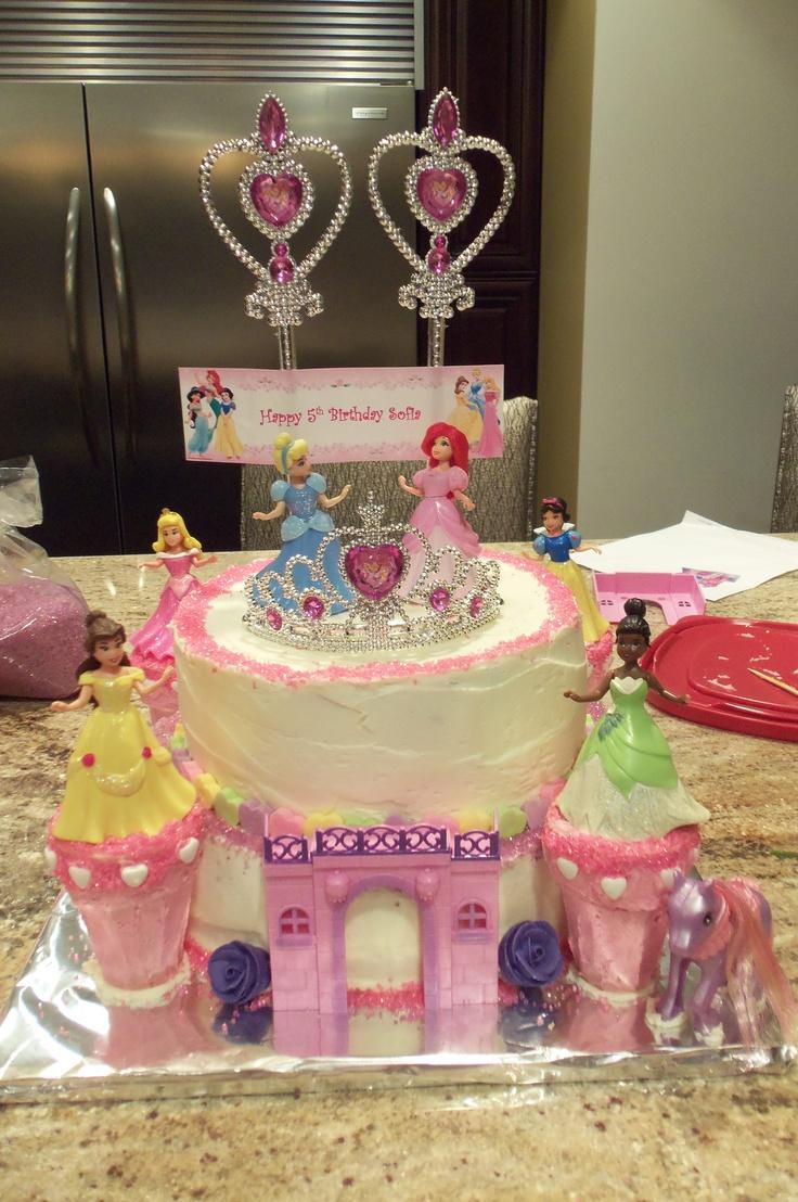 Homemade Princess Birthday Cakes