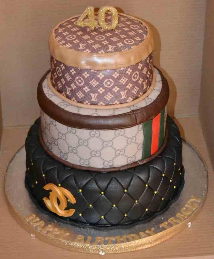 Admirable 8 Louis Vuitton Birthday Cakes Photo Louis Vuitton Birthday Cake Funny Birthday Cards Online Alyptdamsfinfo