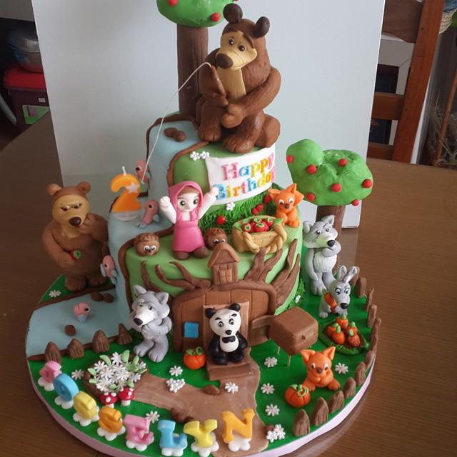 11 Birthday Cakes Bear Cracker Photo Panda Bear Face Cake Teddy