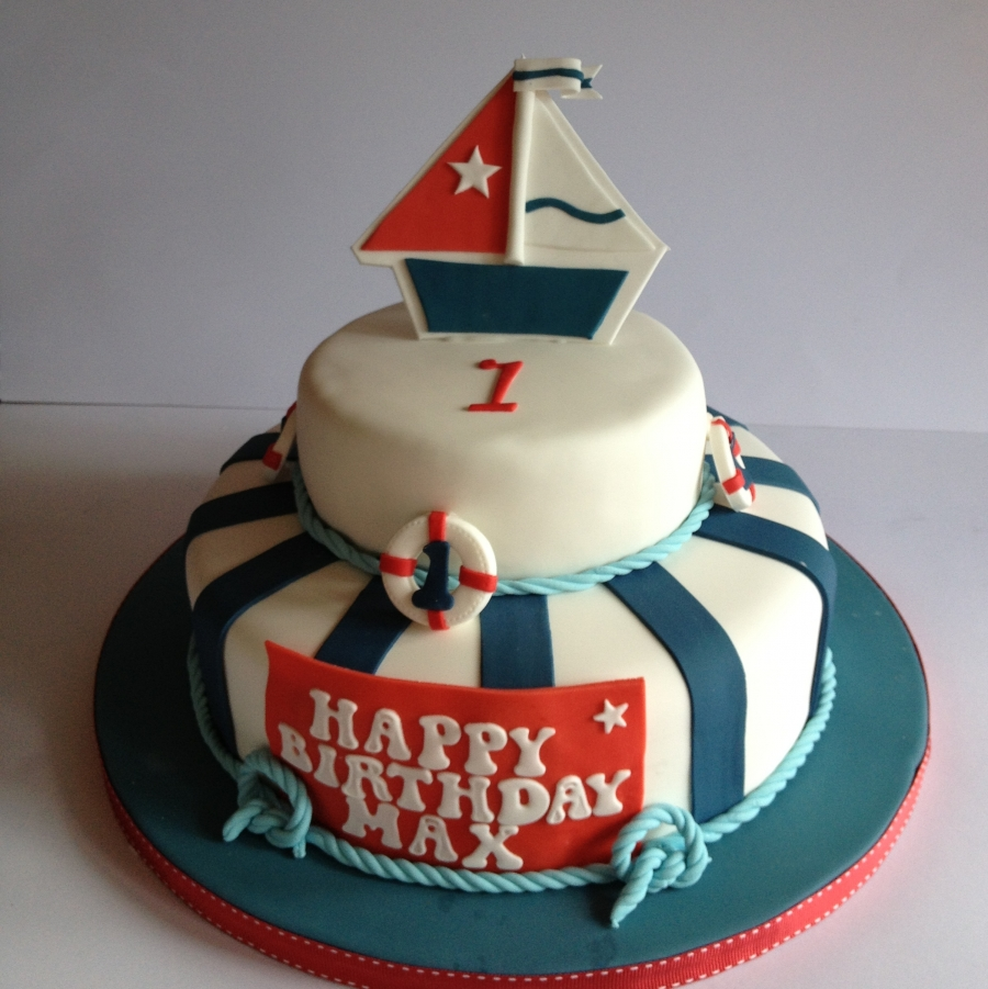 Strange 11 Marine Themed Birthday Cakes Photo Nautical Baby Shower Cake Funny Birthday Cards Online Inifofree Goldxyz