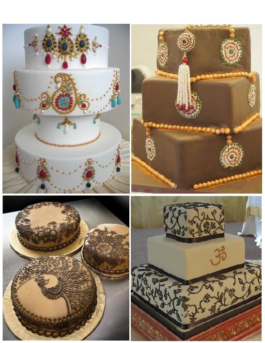 6 Jeweled Indian Wedding Cakes Photo Pinterest Wedding Cakes