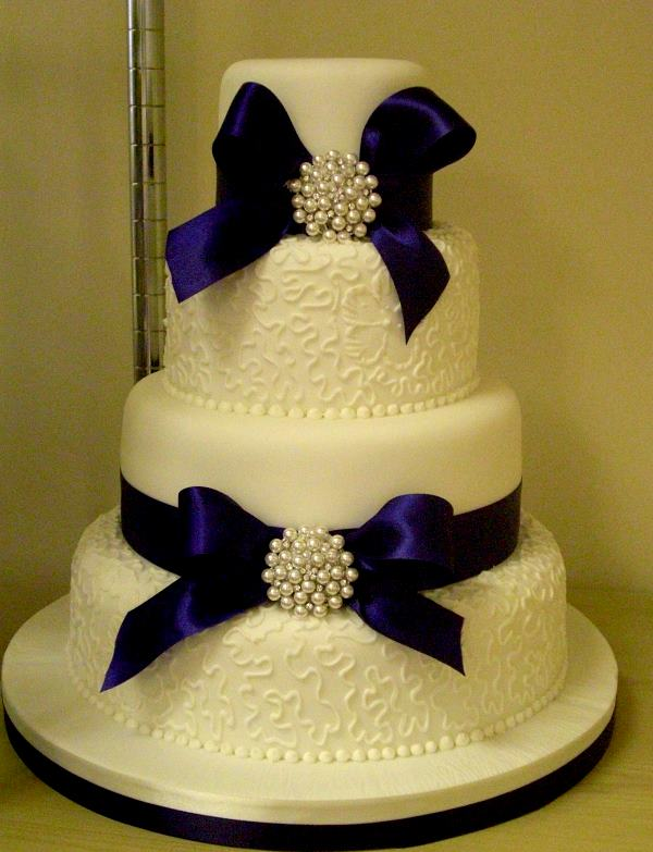 11 Royal Blue Wedding Cakes Photo Royal Blue Wedding Cake Royal
