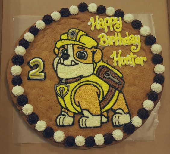 Rubble PAW Patrol Cake