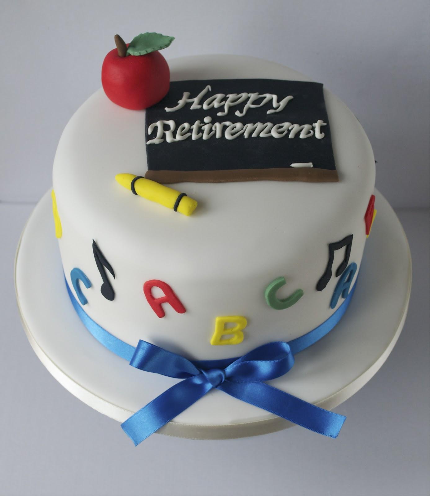 7 Elegant Retirement Cakes Photo Teacher Retirement Cake US Navy