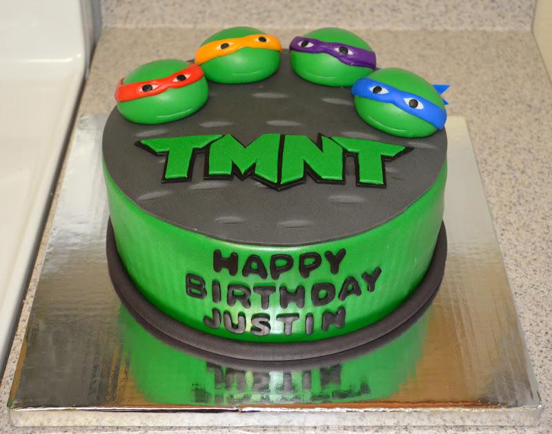 13 Teenage Mutant Turtles Cakes Photo Teenage Mutant Ninja Turtle