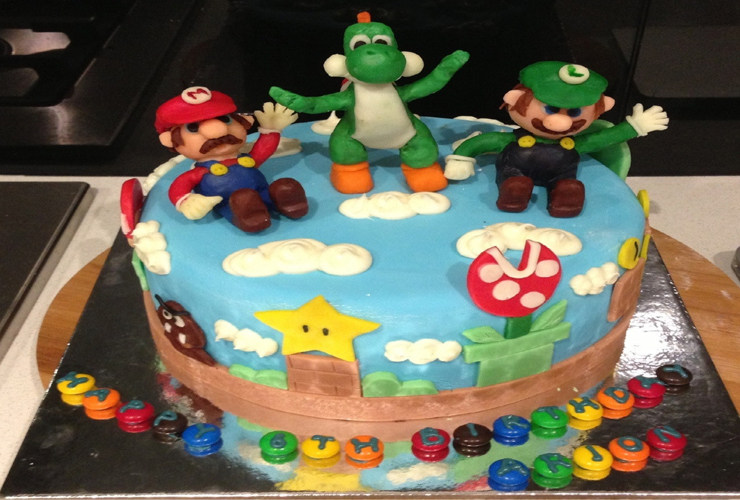6 Year Old Boy Birthday Cake