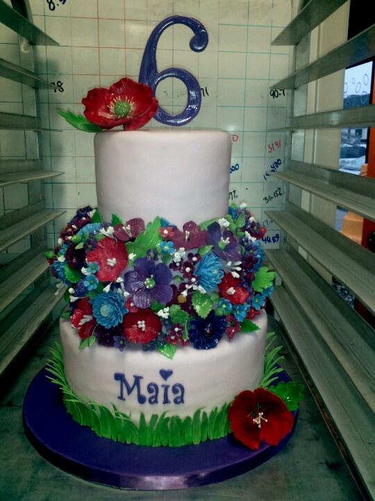 6 Year Old Girl Birthday Cakes