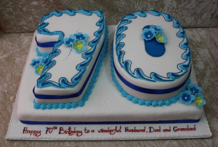 70th Birthday Cake Ideas For Men