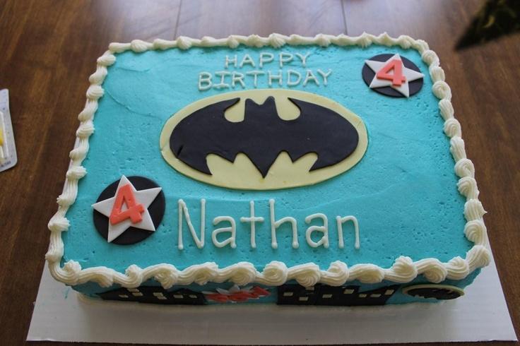 10 Batman Birthday Sheet Cakes Photo Happy Birthday Batman Cake