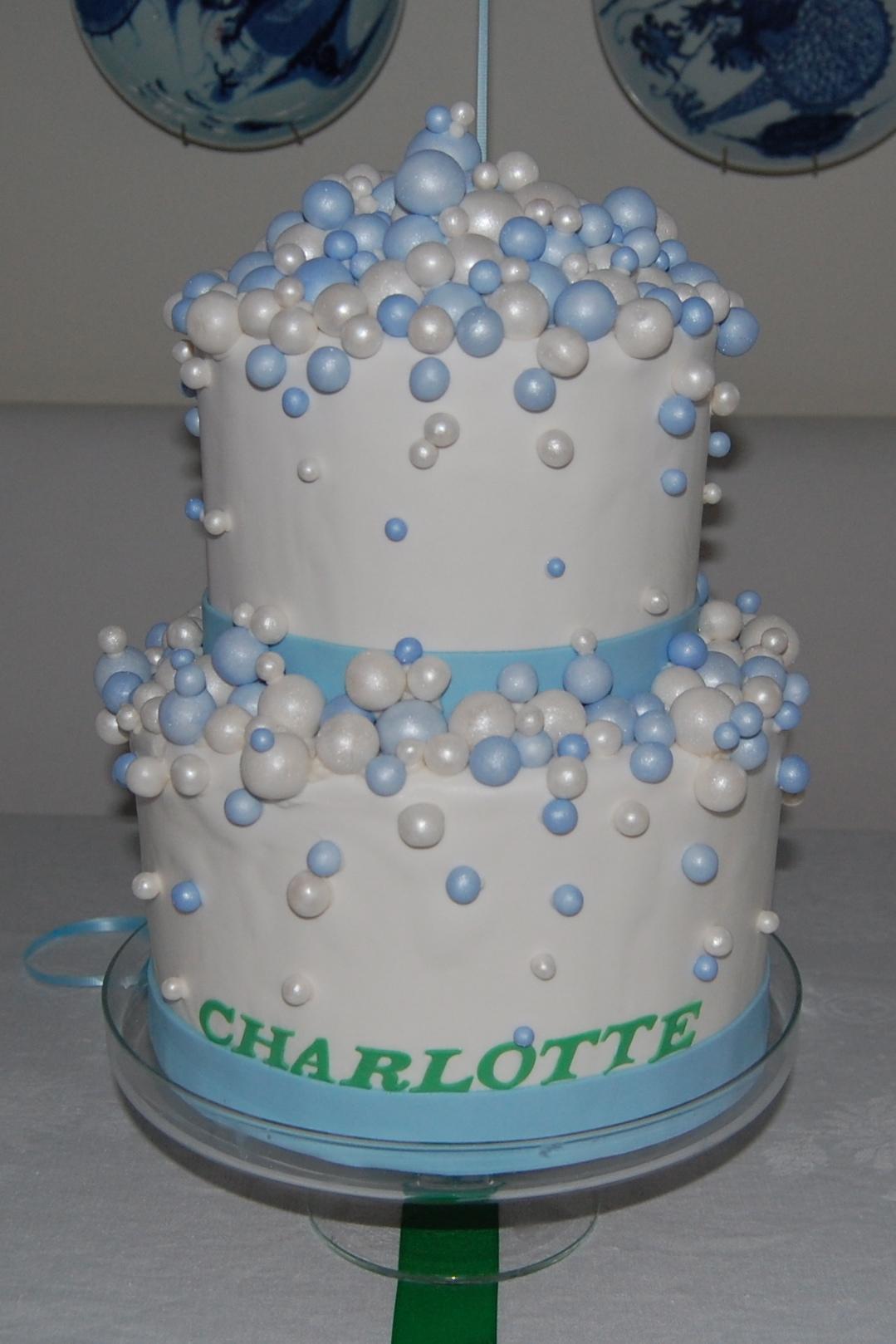 Bubble Birthday Cake Ideas