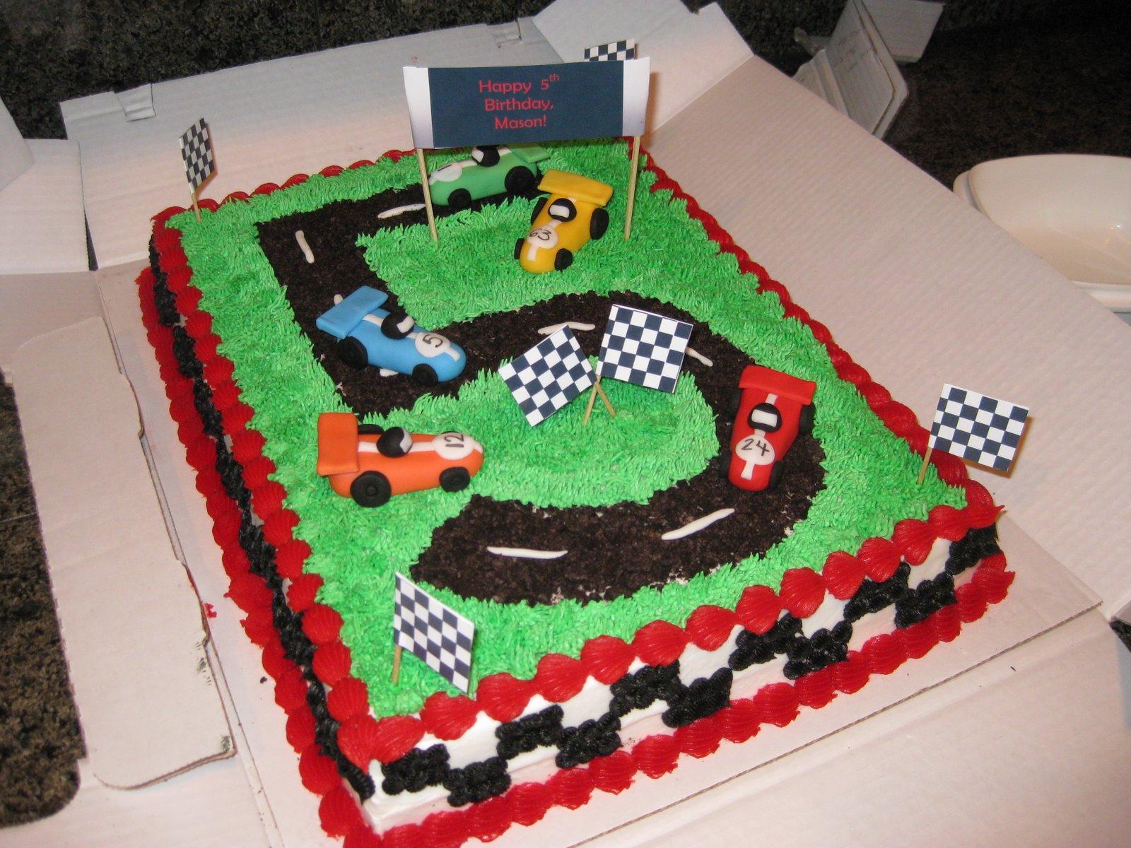 10 Race Car Cakes For Boys Photo Happy Birthday Race Car Cake