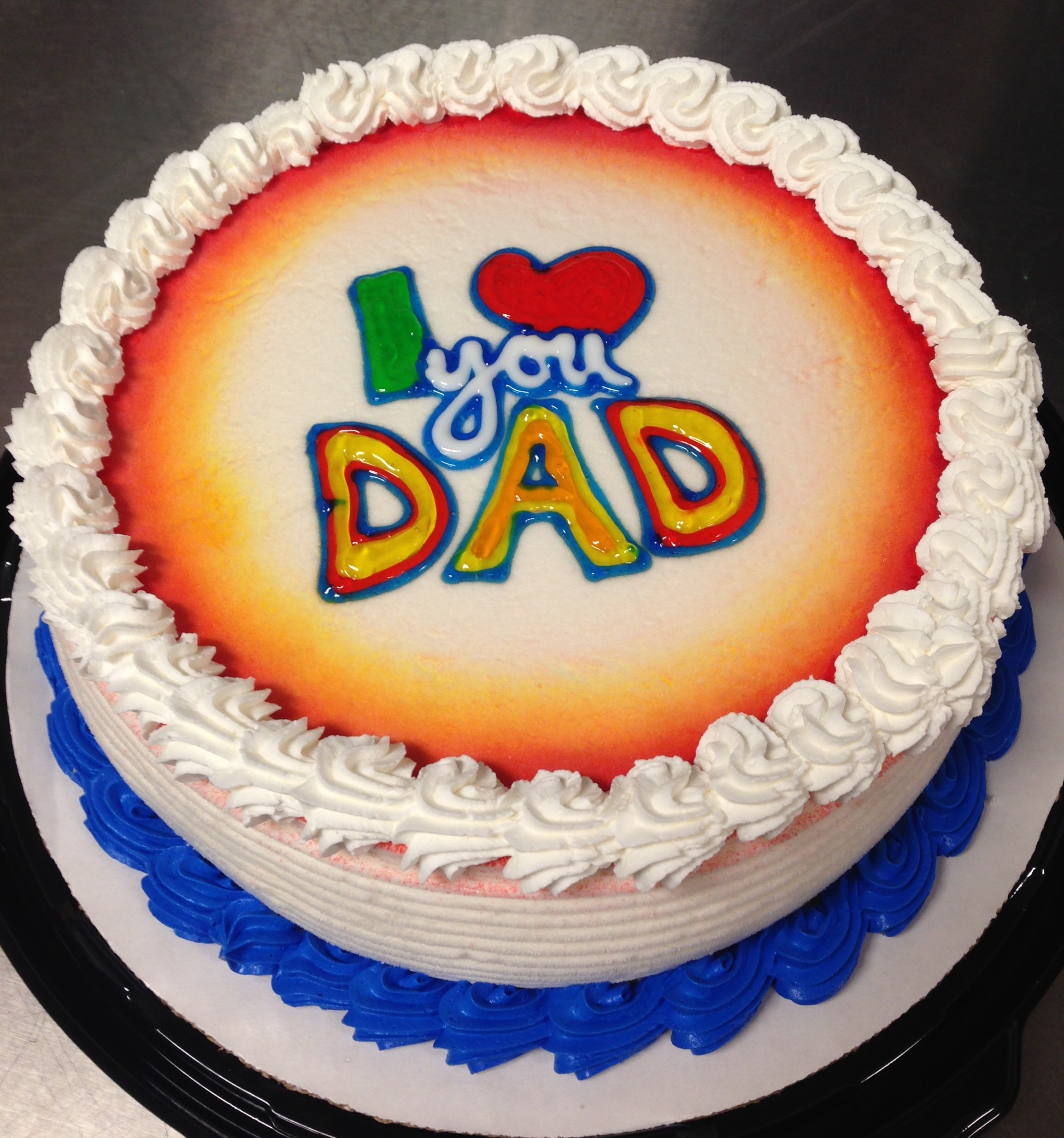 8 Dairy Queen Cakes Designs For Fathers Day Photo Dairy Queen
