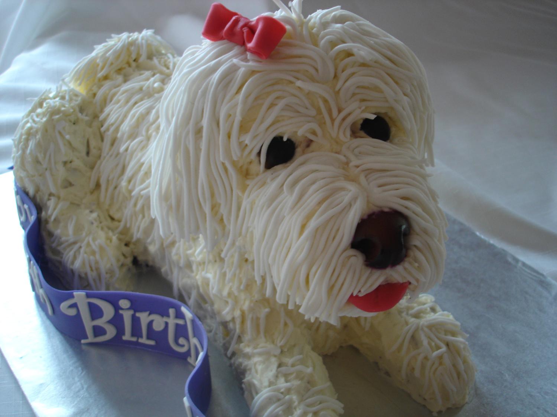 10 Custom Cakes Shaped Like Dog Photo