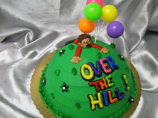 Pleasing 10 Easy Over The Hill Cakes Photo Funny Over The Hill Birthday Personalised Birthday Cards Vishlily Jamesorg