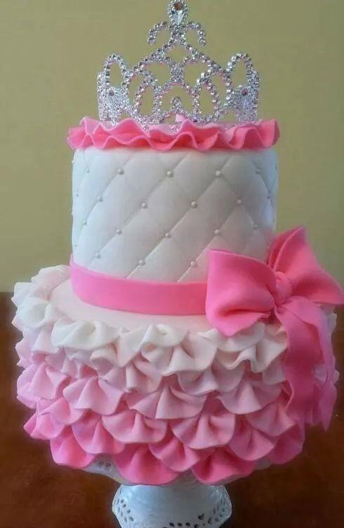 Awe Inspiring 8 Shaped Birthday Cakes Girly Photo Girls 1St Birthday Princess Personalised Birthday Cards Veneteletsinfo