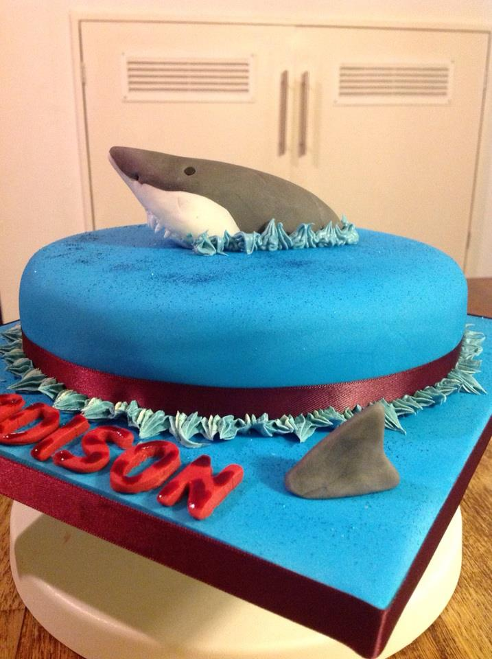 12 Cool Shark Cakes Birthday Photo Shark Birthday Cake Shark