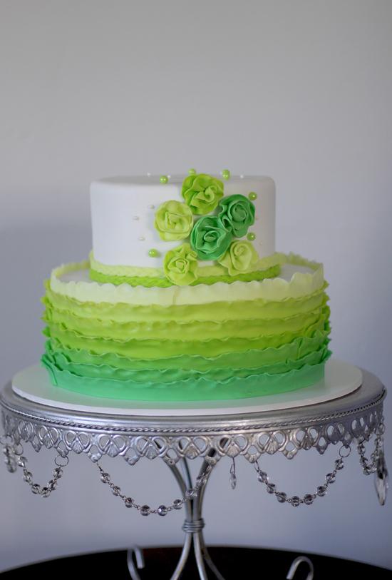 8 Nurse Cakes Lime Green Photo Lime Green Birthday Cake Lime