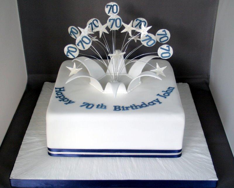 Man 70th Birthday Cake Ideas