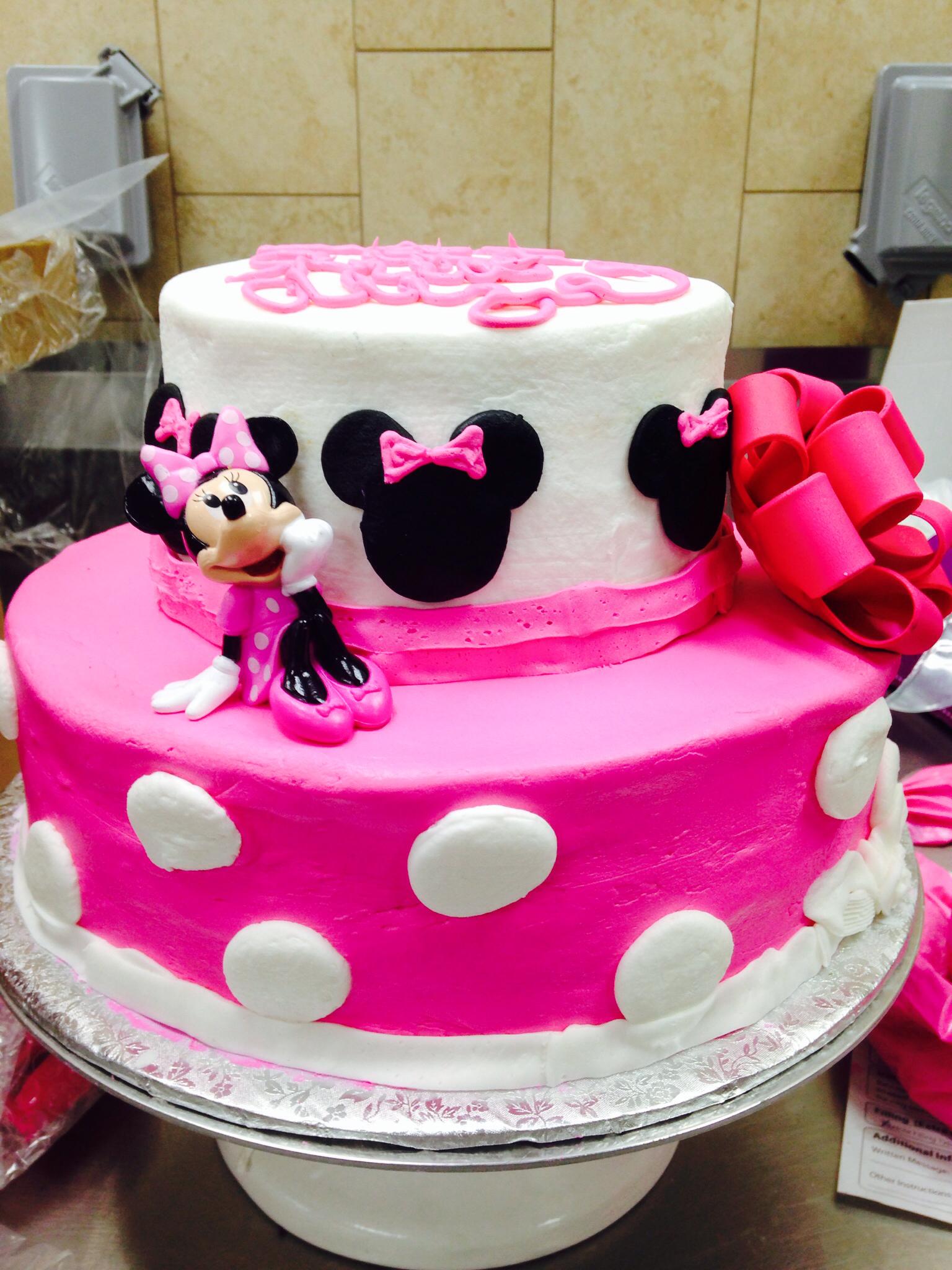 Minnie Mouse Cake Walmart