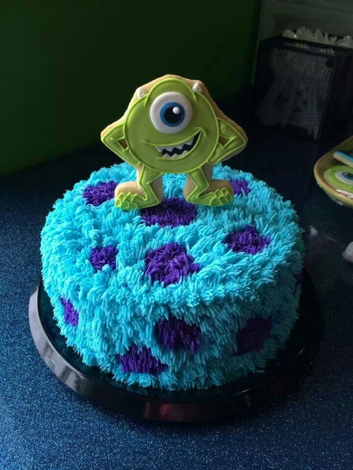 13 Monster Ink Cakes With Photo Monsters Inc Cookie Cake Monster
