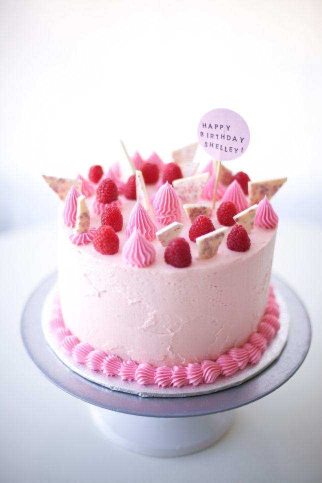 10 Pink Birthday Cakes On Pinterest Com Photo