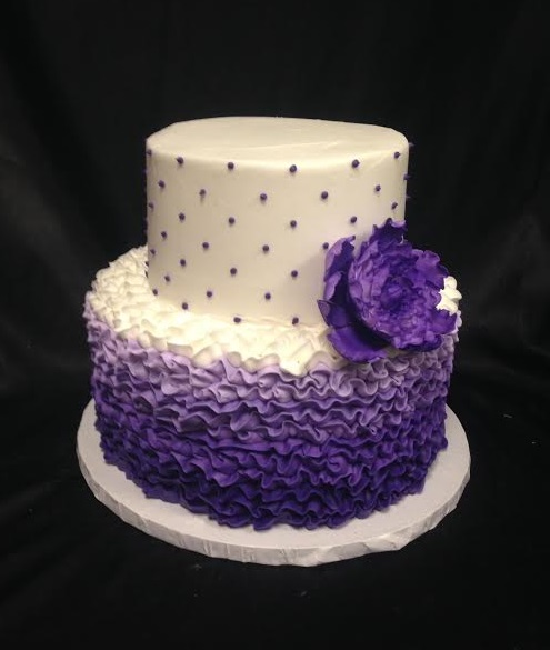 Purple Birthday Cakes Women