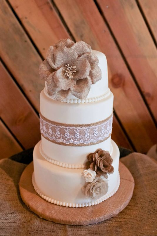6 Lace Rustic Wedding Cupcakes Photo Rustic Wedding Cake With