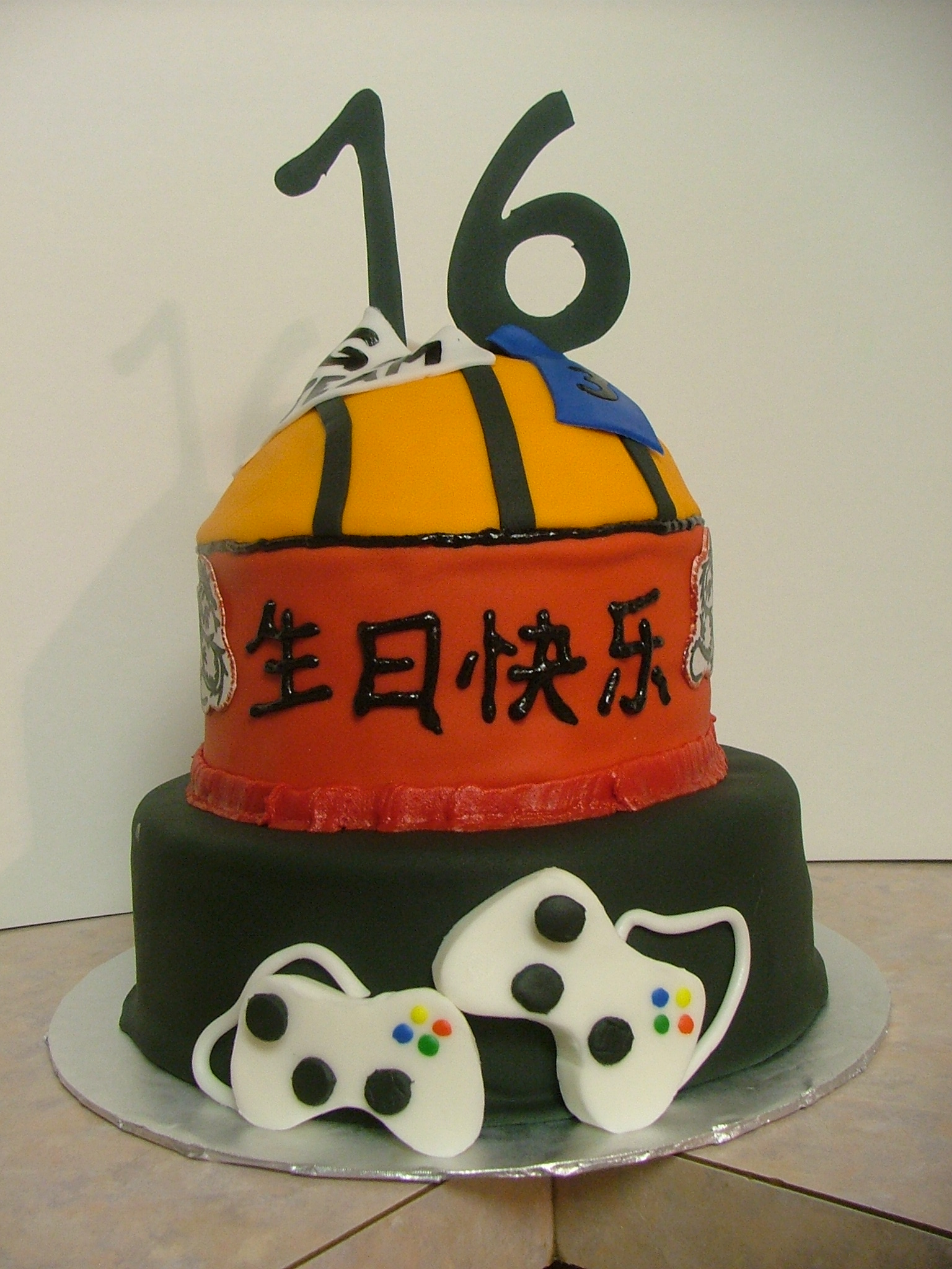 Surprising 8 Sweet 16 Cakes For Boys Photo Blue 16Th Birthday Cakes For Funny Birthday Cards Online Chimdamsfinfo