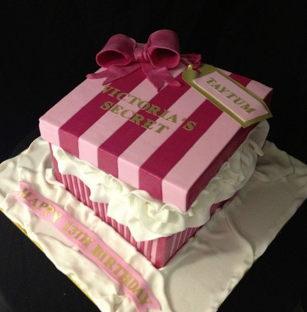 53513b5d53 8 Victoria Secret Box Cakes Photo - Victoria Secret Birthday Cake ...