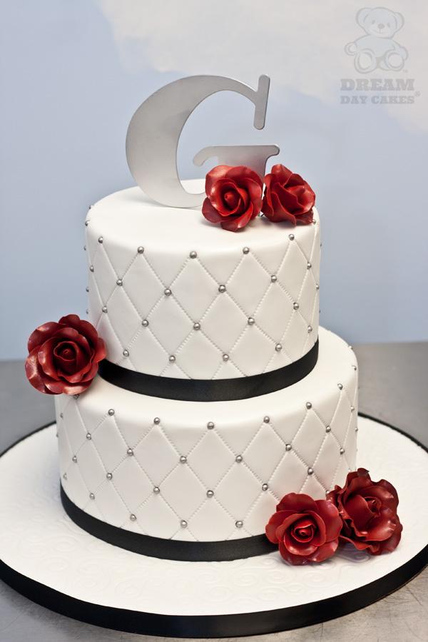 9 Red Wedding Cakes Sugar Rose Photo Wedding Cake With Roses