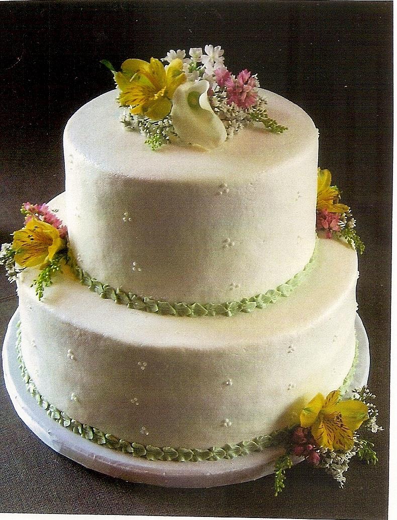 2 Layer Wedding Cakes