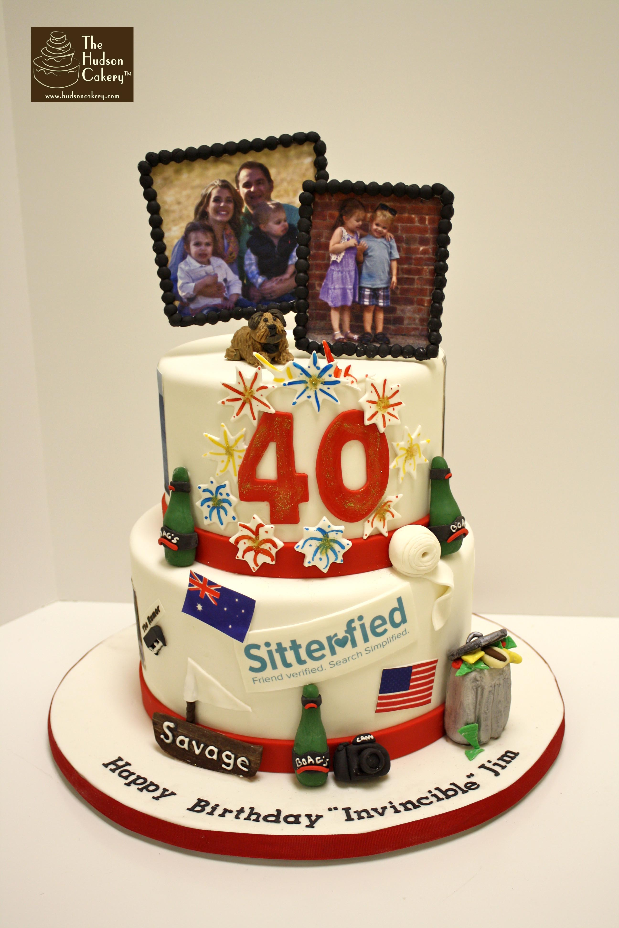 Marvelous 6 Milestone Birthday Cakes For Women Photo 40 Birthday Cake Personalised Birthday Cards Epsylily Jamesorg