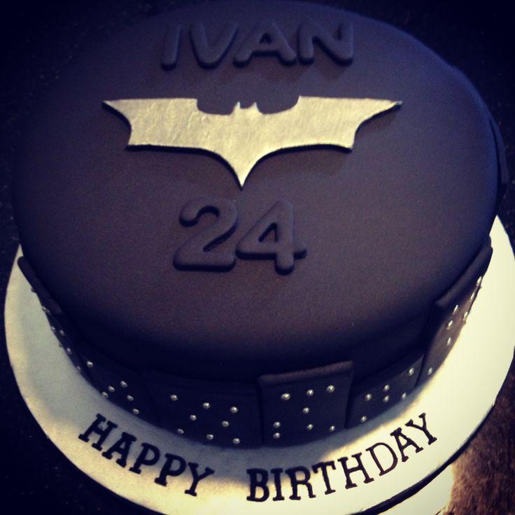 Batman Dark Knight Birthday Cake