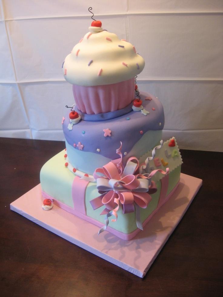 Birthday Cupcake Cakes Designs