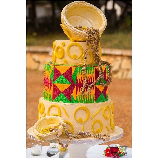 12 Ghanaian Wedding Cakes Photo - Ghana Traditional Wedding Cake ...