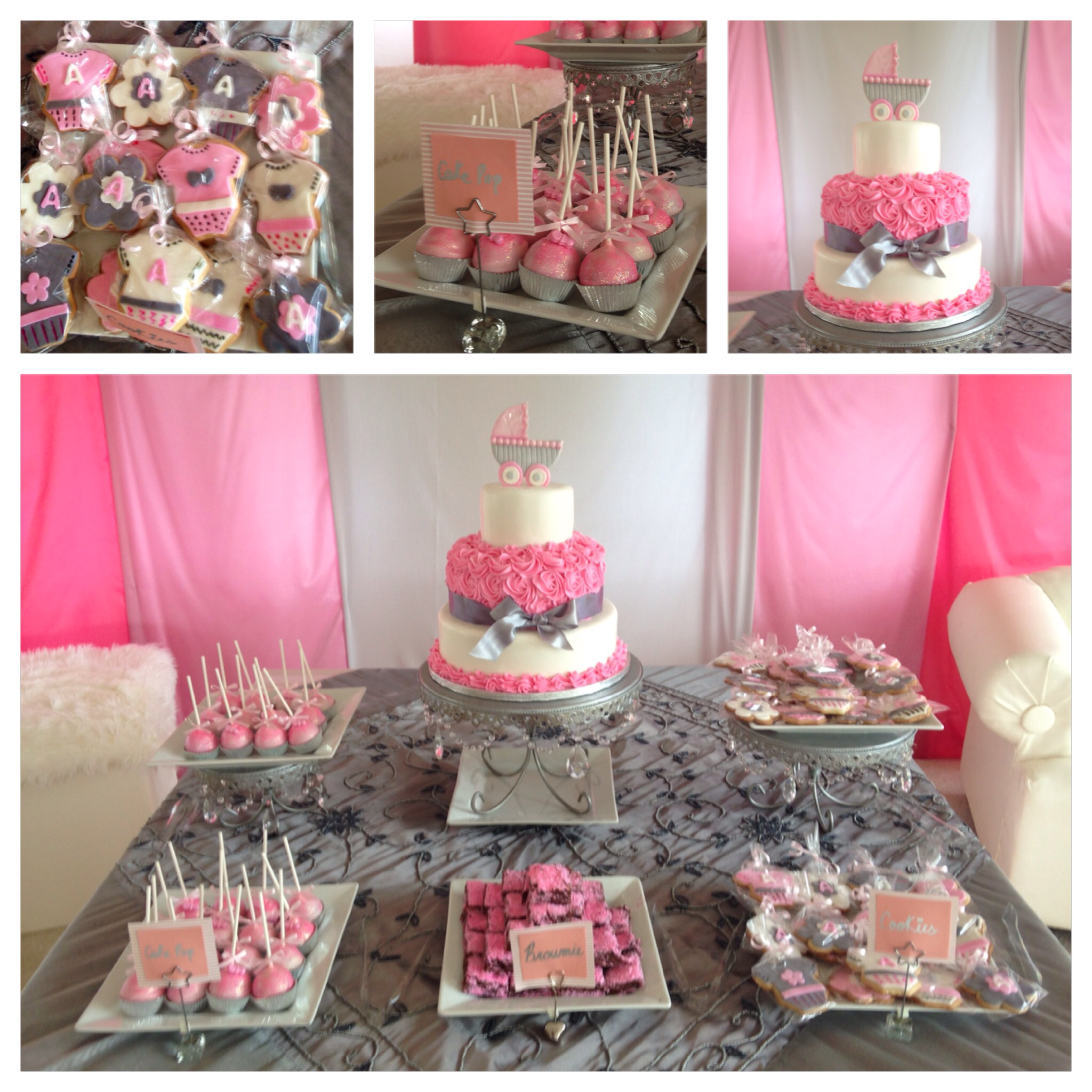 11 Simple Tables Cakes Baby Shower Photo Baby Shower Cake Baby