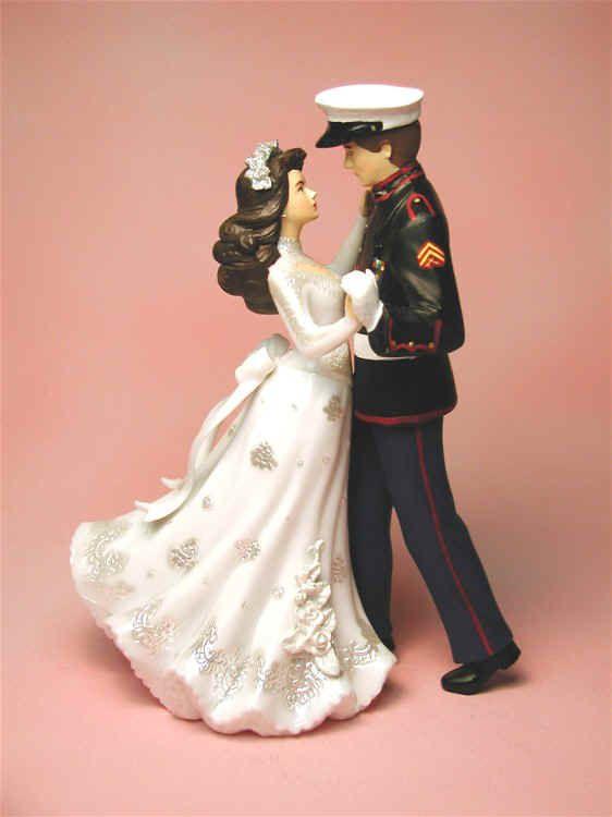 11 Marine Wedding Cake Toppers For Cakes Photo - Marine Wedding Cake ...