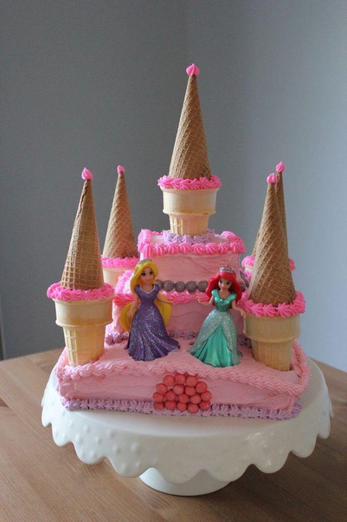 Prime 10 Simple Princess Cakes For Girls Photo Princess Birthday Cake Funny Birthday Cards Online Bapapcheapnameinfo