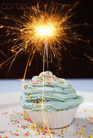 Pleasant 9 Sparkler Candles For Cupcakes Photo Happy Birthday Cupcake Funny Birthday Cards Online Alyptdamsfinfo