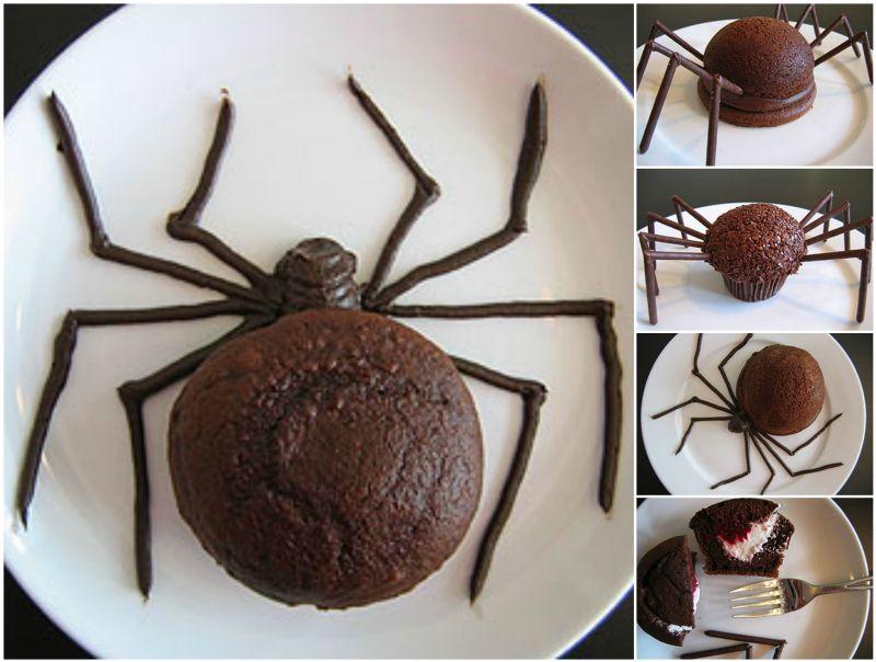 spider halloween cakes cupcakes