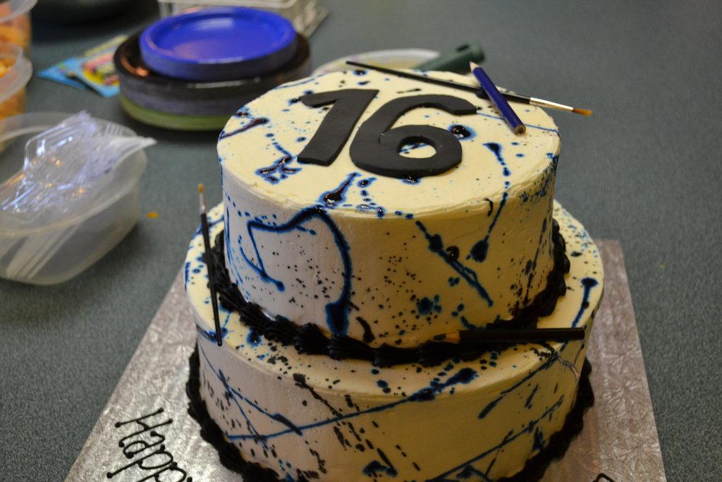Brilliant 12 Sweet Sixteen Birthday Cakes Awesome Photo Sweet 16 Birthday Personalised Birthday Cards Akebfashionlily Jamesorg
