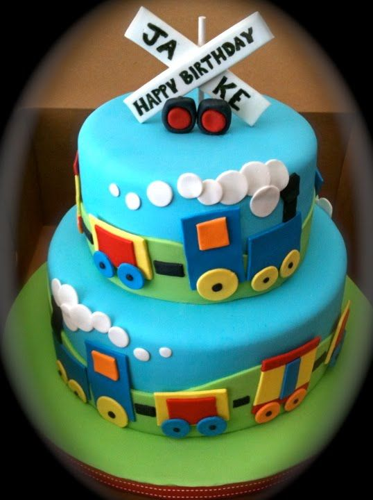 11 Train Birthday Cupcakes For Girls Photo
