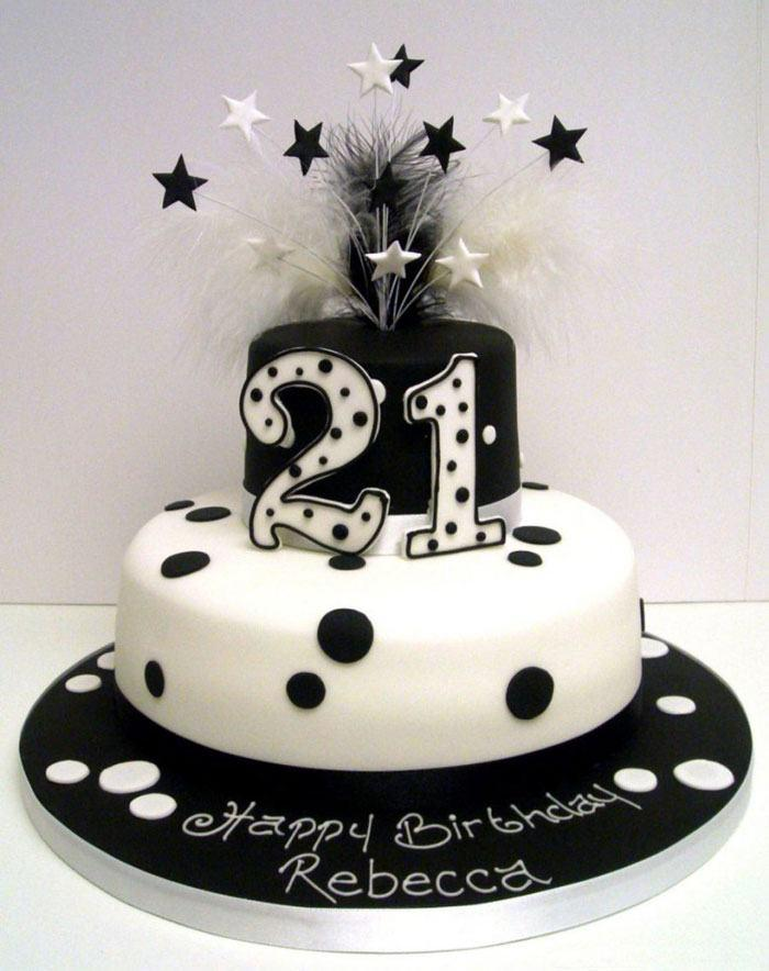 Astonishing 9 Fun Birthday Cakes Black And White Photo Black And White 30Th Funny Birthday Cards Online Alyptdamsfinfo