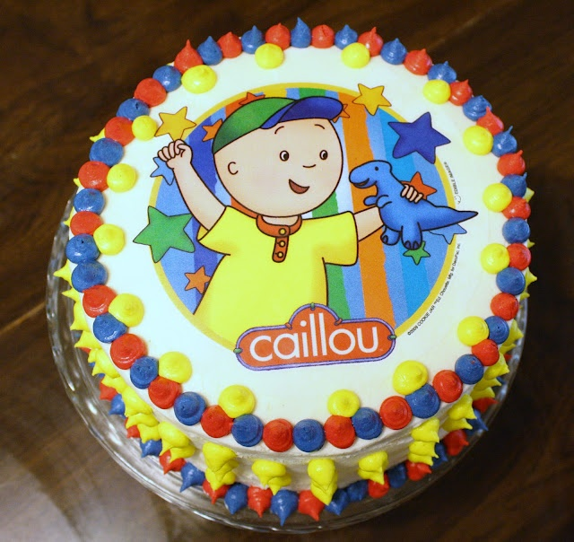 Fabulous 11 Cailou Bday Cakes Photo Caillou Birthday Cake Caillou Funny Birthday Cards Online Elaedamsfinfo