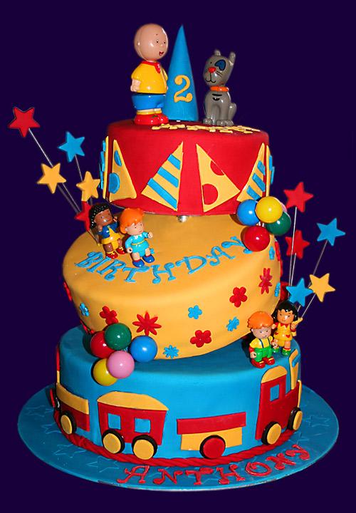 11 Cailou Bday Cakes Photo Caillou Birthday Cake Caillou Birthday